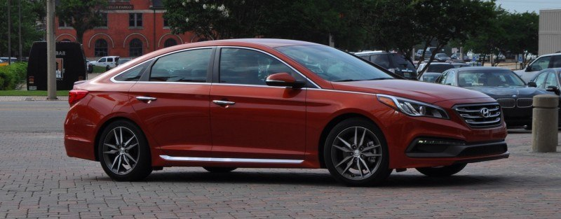 2015 Hyundai Sonata Sport 2.0T - 160 Photos From National Media Launch 36