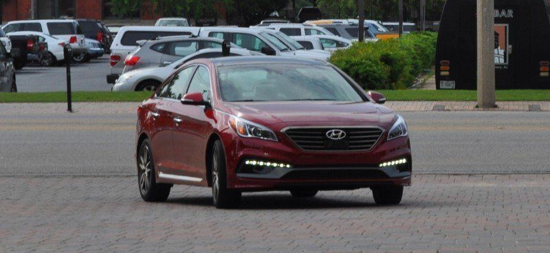 2015 Hyundai Sonata Sport 2.0T - 160 Photos From National Media Launch 38