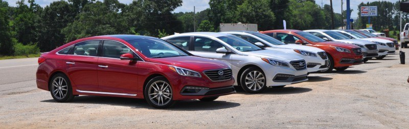 2015 Hyundai Sonata Sport 2.0T - 160 Photos From National Media Launch 43