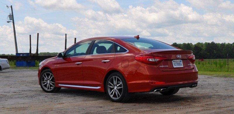 2015 Hyundai Sonata Sport 2.0T - 160 Photos From National Media Launch 56