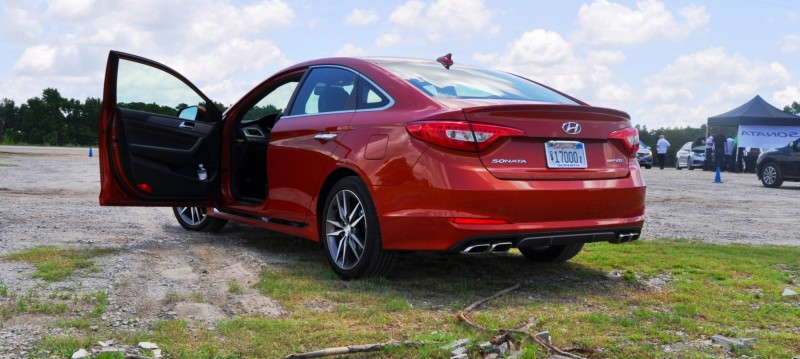 2015 Hyundai Sonata Sport 2.0T - 160 Photos From National Media Launch 64