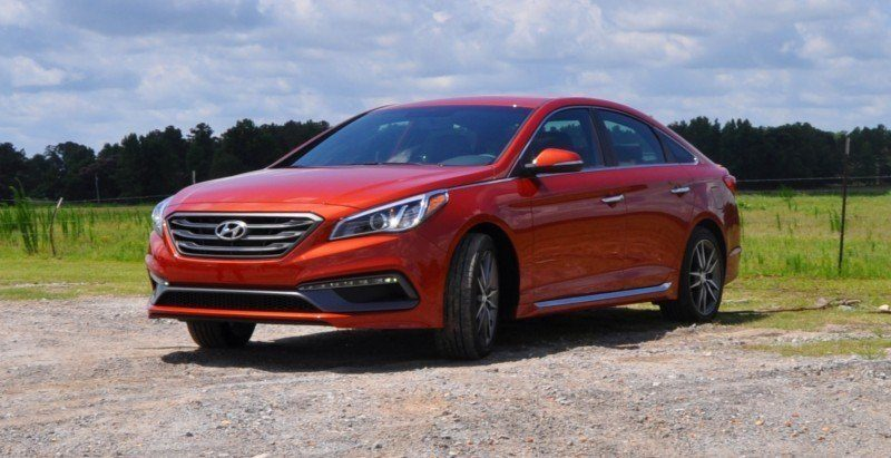 2015 Hyundai Sonata Sport 2.0T - 160 Photos From National Media Launch 70