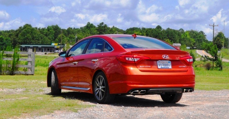 2015 Hyundai Sonata Sport 2.0T - 160 Photos From National Media Launch 99