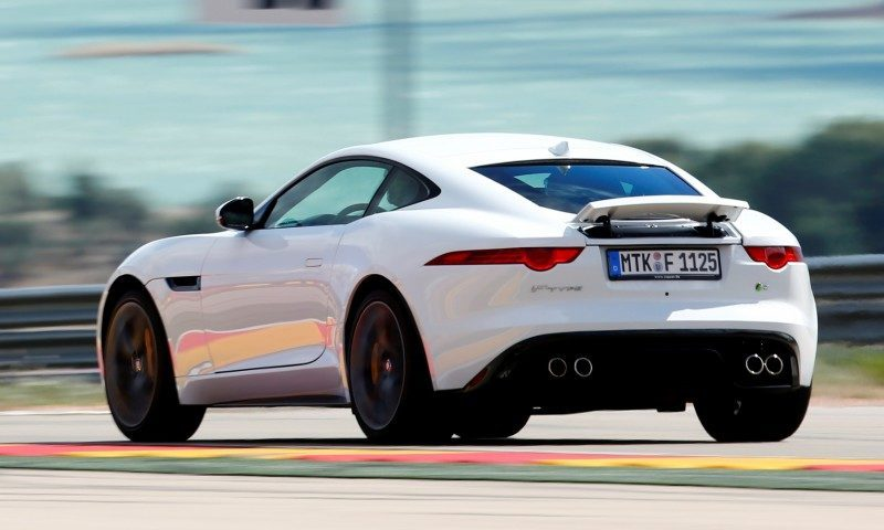 2015 JAGUAR F-Type Coupe - American Launch at Willow Springs in 75 Sideways Action Shots 1