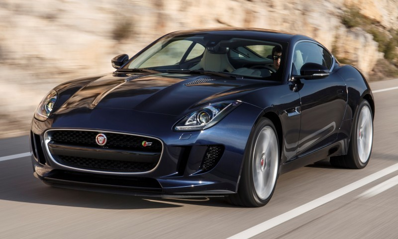 2015 JAGUAR F-Type Coupe - American Launch at Willow Springs in 75 Sideways Action Shots 17