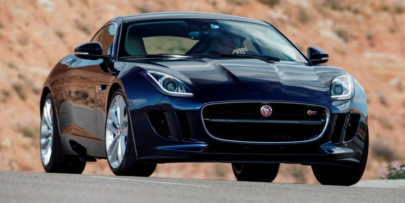 2015 JAGUAR F-Type Coupe - American Launch at Willow Springs in 75 Sideways Action Shots 18