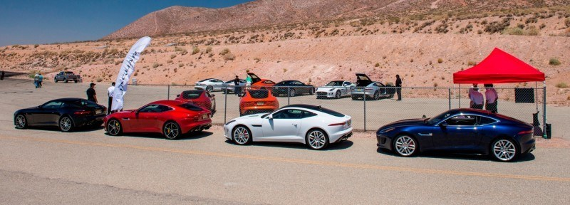 2015 JAGUAR F-Type Coupe - American Launch at Willow Springs in 75 Sideways Action Shots 25