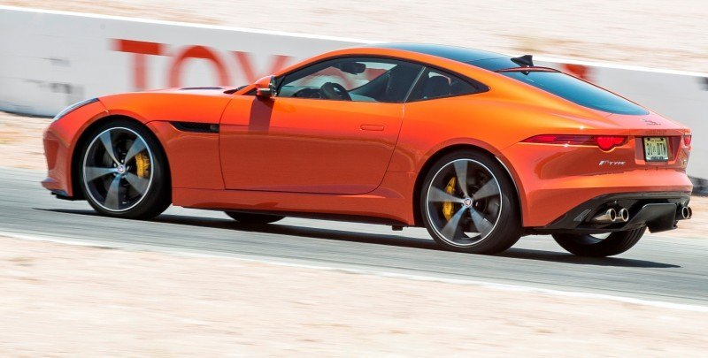 2015 JAGUAR F-Type Coupe - American Launch at Willow Springs in 75 Sideways Action Shots 28