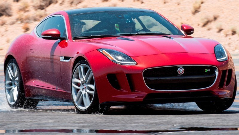 2015 JAGUAR F-Type Coupe - American Launch at Willow Springs in 75 Sideways Action Shots 29