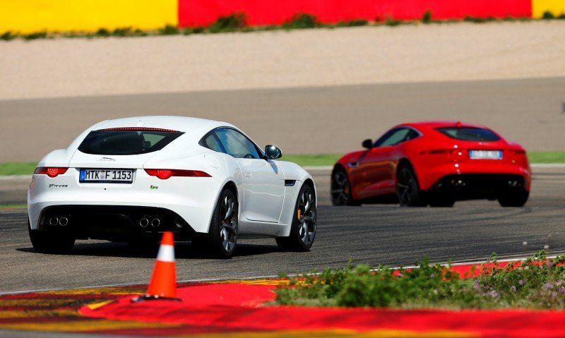 2015 JAGUAR F-Type Coupe - American Launch at Willow Springs in 75 Sideways Action Shots 3