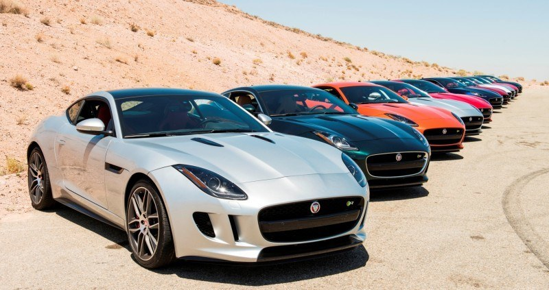2015 JAGUAR F-Type Coupe - American Launch at Willow Springs in 75 Sideways Action Shots 30