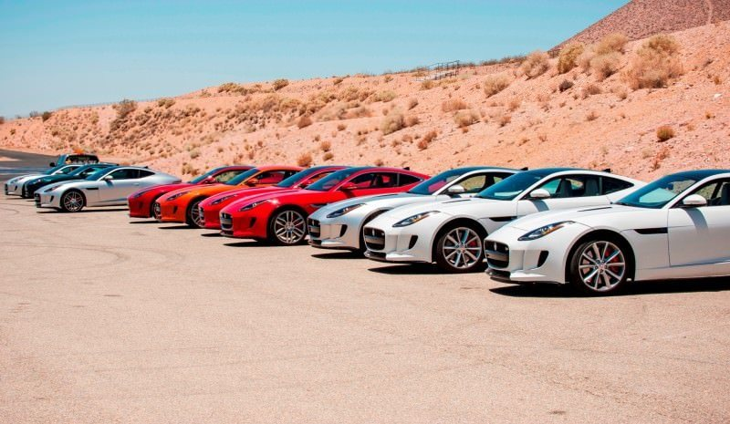2015 JAGUAR F-Type Coupe - American Launch at Willow Springs in 75 Sideways Action Shots 36