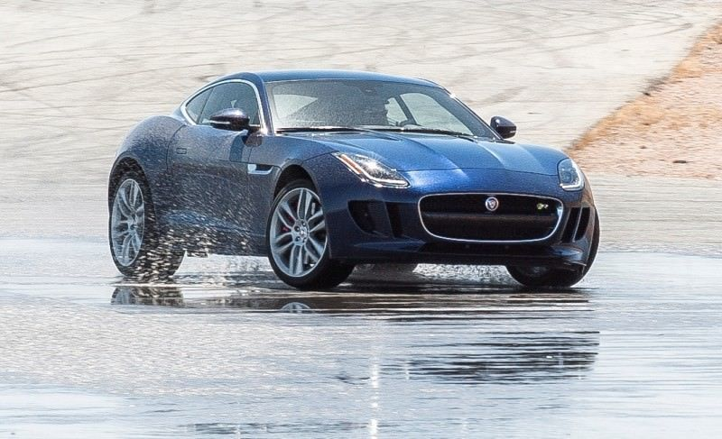 2015 JAGUAR F-Type Coupe - American Launch at Willow Springs in 75 Sideways Action Shots 39
