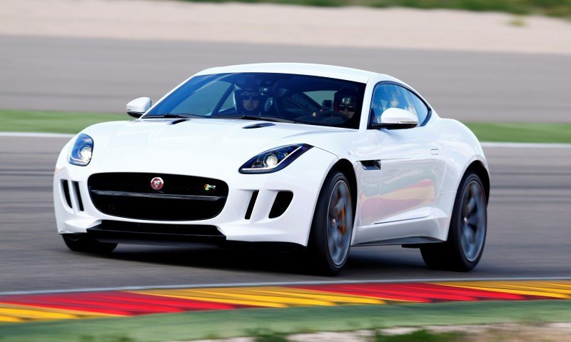 2015 JAGUAR F-Type Coupe - American Launch at Willow Springs in 75 Sideways Action Shots 4