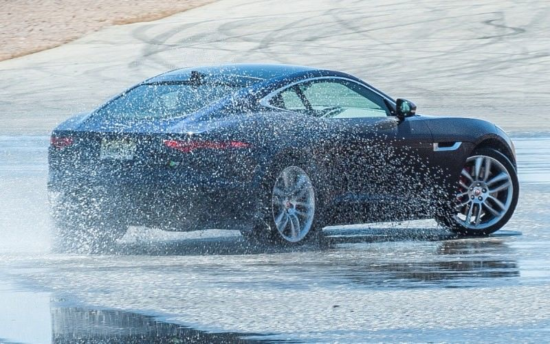 2015 JAGUAR F-Type Coupe - American Launch at Willow Springs in 75 Sideways Action Shots 40