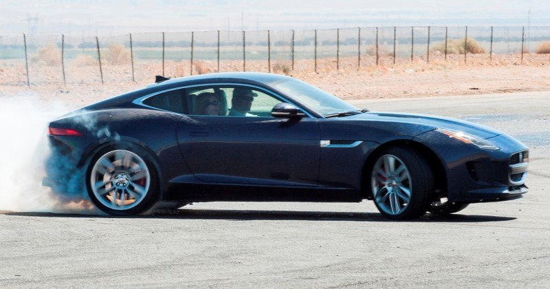 2015 JAGUAR F-Type Coupe - American Launch at Willow Springs in 75 Sideways Action Shots 41