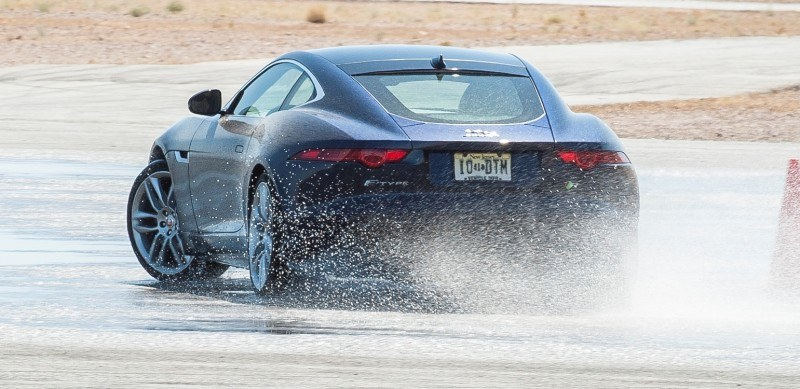 2015 JAGUAR F-Type Coupe - American Launch at Willow Springs in 75 Sideways Action Shots 42