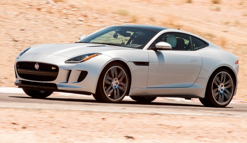 2015 JAGUAR F-Type Coupe - American Launch at Willow Springs in 75 Sideways Action Shots 43