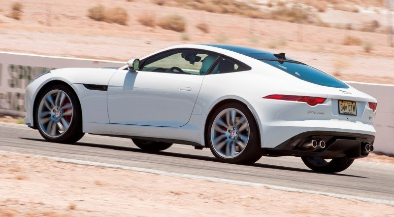 2015 JAGUAR F-Type Coupe - American Launch at Willow Springs in 75 Sideways Action Shots 44