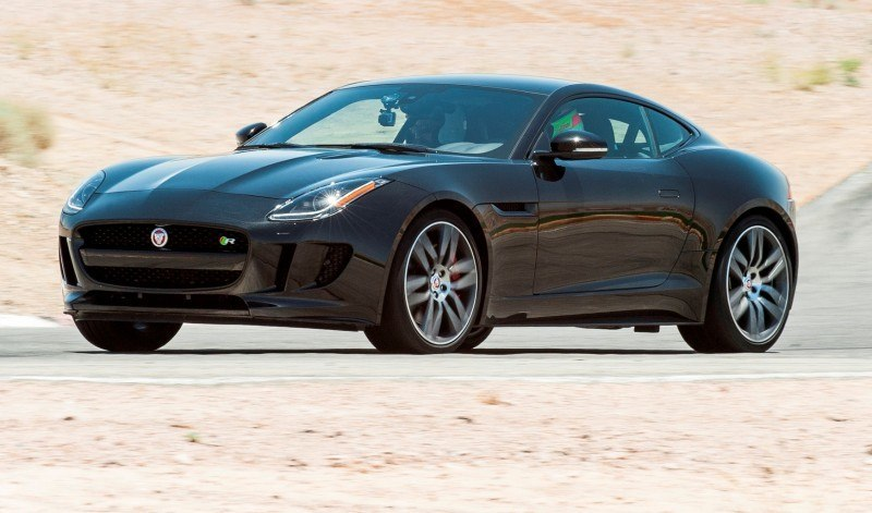 2015 JAGUAR F-Type Coupe - American Launch at Willow Springs in 75 Sideways Action Shots 45