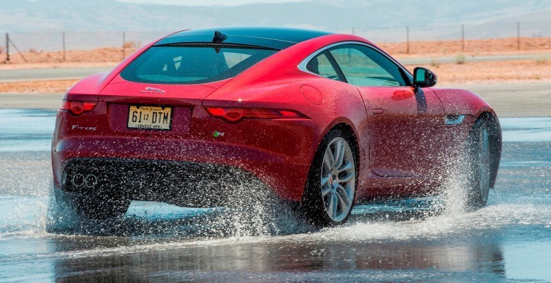 2015 JAGUAR F-Type Coupe - American Launch at Willow Springs in 75 Sideways Action Shots 46