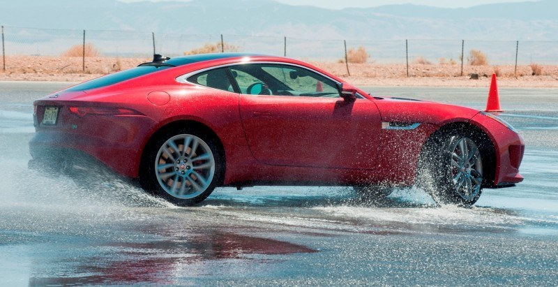2015 JAGUAR F-Type Coupe - American Launch at Willow Springs in 75 Sideways Action Shots 47