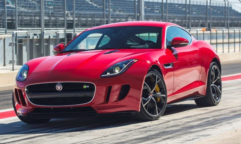 2015 JAGUAR F-Type Coupe - American Launch at Willow Springs in 75 Sideways Action Shots 48