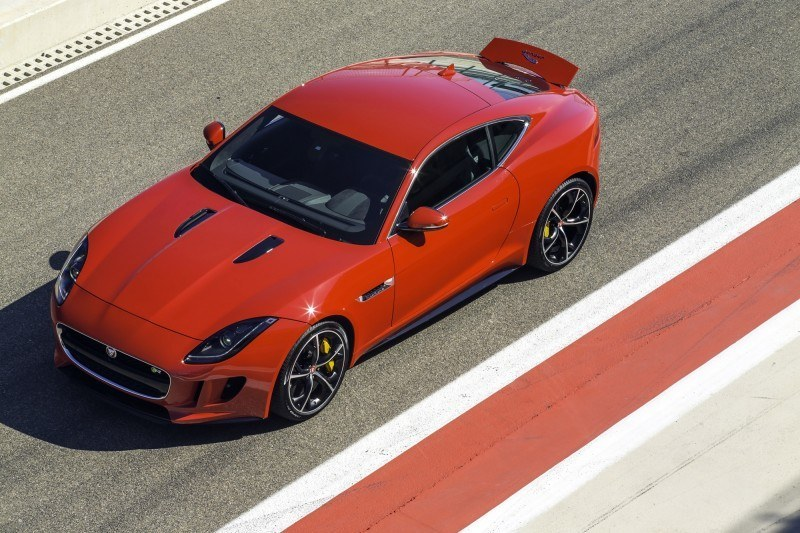 2015 JAGUAR F-Type Coupe - American Launch at Willow Springs in 75 Sideways Action Shots 49