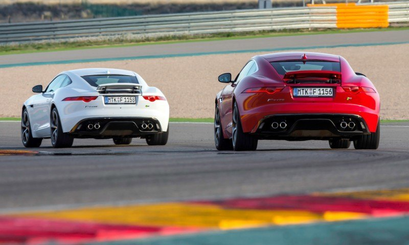 2015 JAGUAR F-Type Coupe - American Launch at Willow Springs in 75 Sideways Action Shots 55