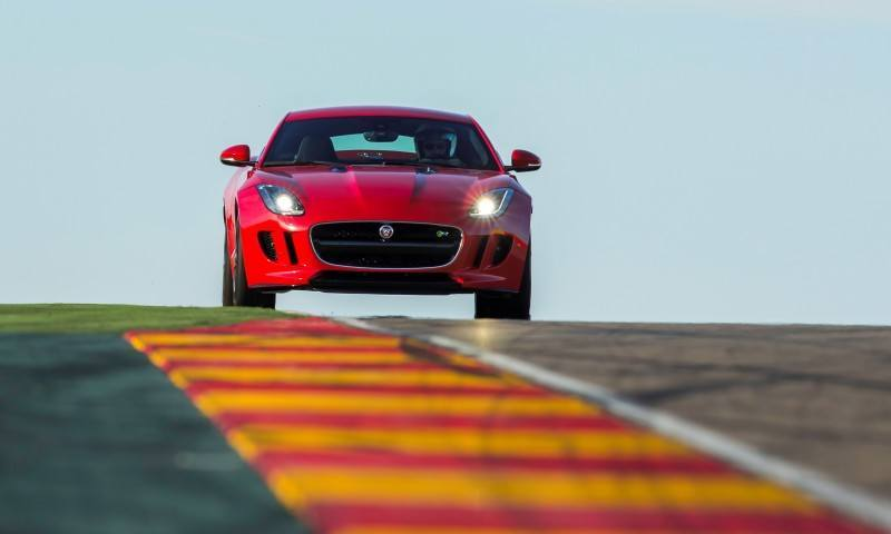 2015 JAGUAR F-Type Coupe - American Launch at Willow Springs in 75 Sideways Action Shots 56
