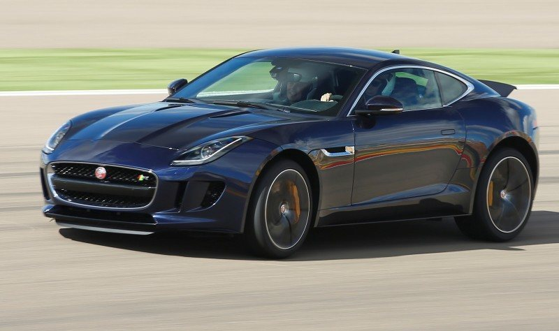 2015 JAGUAR F-Type Coupe - American Launch at Willow Springs in 75 Sideways Action Shots 5