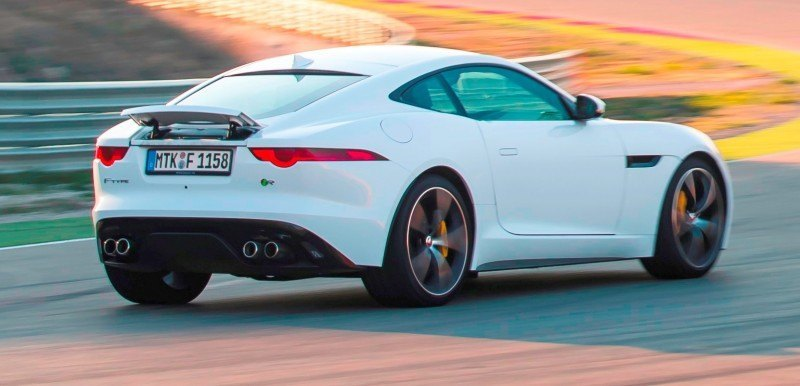 2015 JAGUAR F-Type Coupe - American Launch at Willow Springs in 75 Sideways Action Shots 58