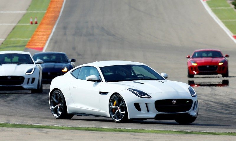 2015 JAGUAR F-Type Coupe - American Launch at Willow Springs in 75 Sideways Action Shots 59