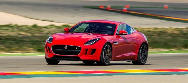 2015 JAGUAR F-Type Coupe - American Launch at Willow Springs in 75 Sideways Action Shots 6