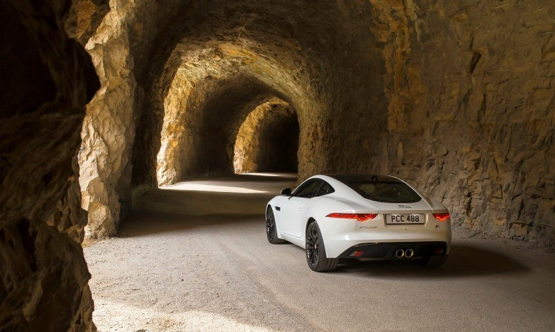 2015 JAGUAR F-Type Coupe - American Launch at Willow Springs in 75 Sideways Action Shots 61