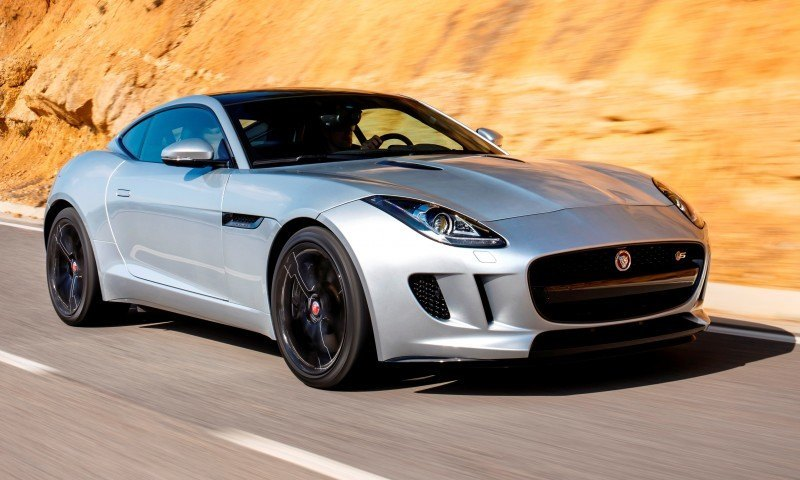 2015 JAGUAR F-Type Coupe - American Launch at Willow Springs in 75 Sideways Action Shots 62