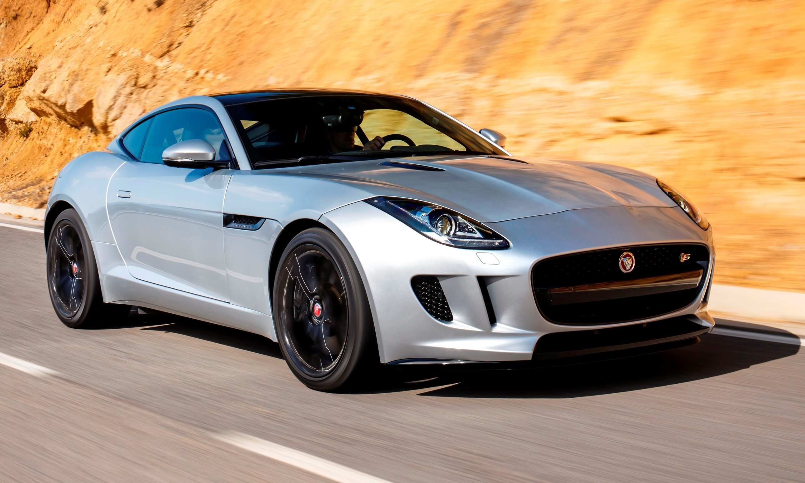 2015 JAGUAR F-Type Coupe - American Launch at Willow Springs in 75 ...