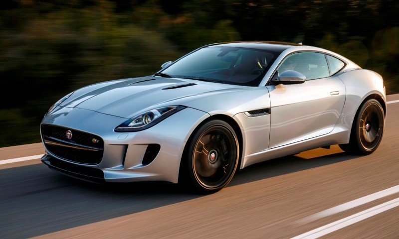 2015 JAGUAR F-Type Coupe - American Launch at Willow Springs in 75 Sideways Action Shots 63
