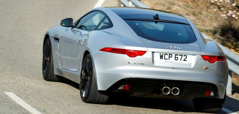 2015 JAGUAR F-Type Coupe - American Launch at Willow Springs in 75 Sideways Action Shots 64