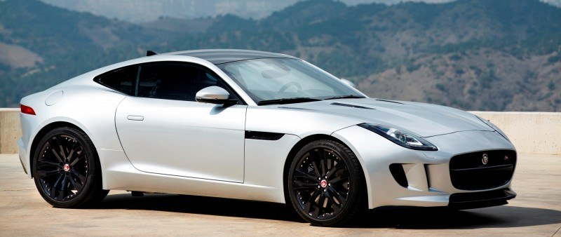 2015 JAGUAR F-Type Coupe - American Launch at Willow Springs in 75 Sideways Action Shots 65