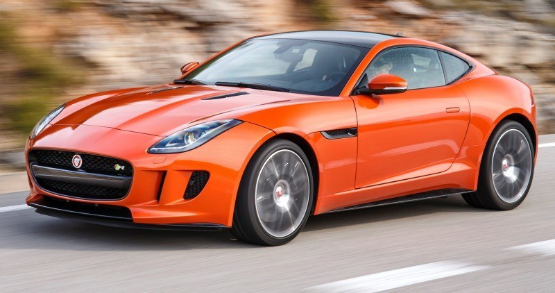 2015 JAGUAR F-Type Coupe - American Launch at Willow Springs in 75 Sideways Action Shots 67