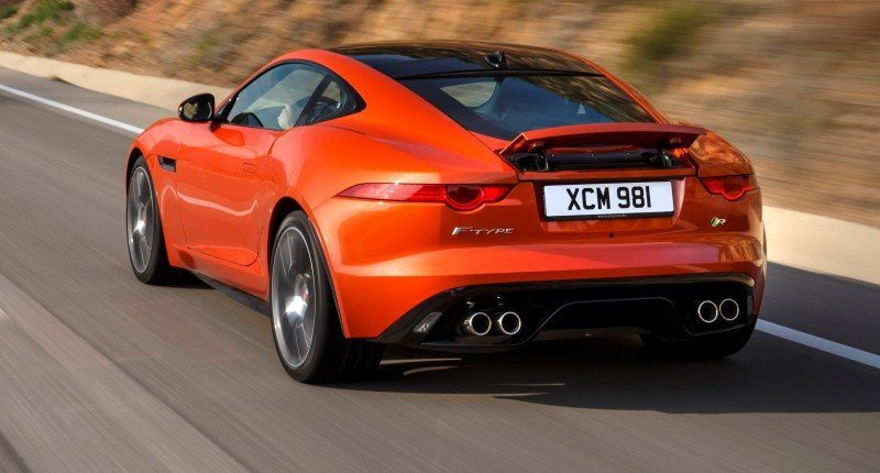 2015 JAGUAR F-Type Coupe - American Launch at Willow Springs in 75 Sideways Action Shots 68