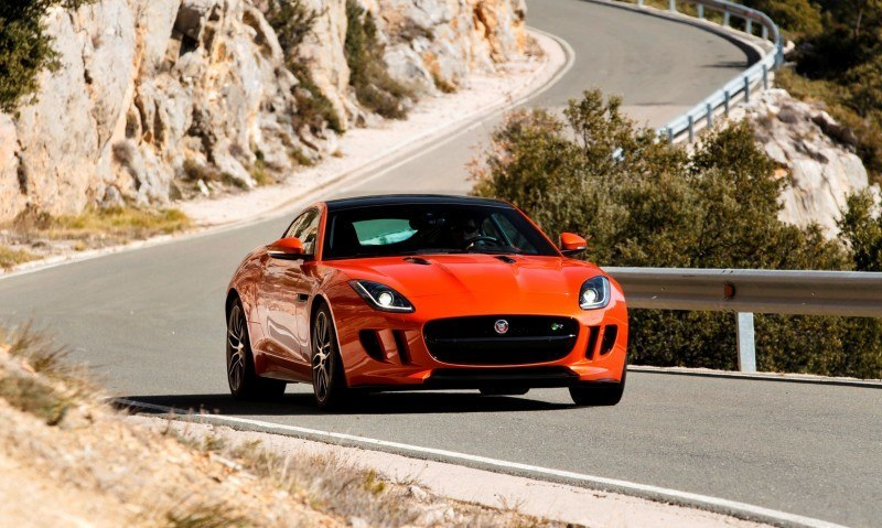 2015 JAGUAR F-Type Coupe - American Launch at Willow Springs in 75 Sideways Action Shots 69