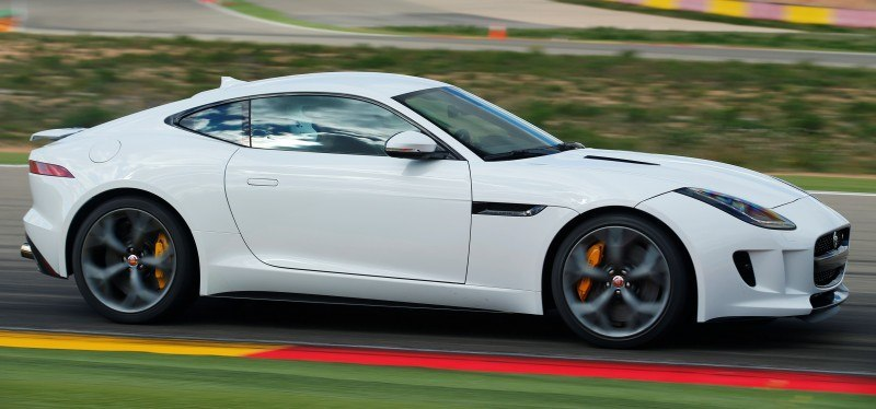 2015 JAGUAR F-Type Coupe - American Launch at Willow Springs in 75 Sideways Action Shots 7