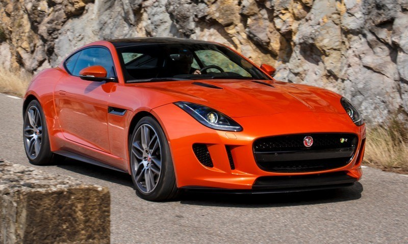 2015 JAGUAR F-Type Coupe - American Launch at Willow Springs in 75 Sideways Action Shots 70