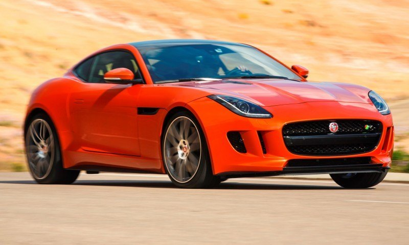 2015 JAGUAR F-Type Coupe - American Launch at Willow Springs in 75 Sideways Action Shots 71