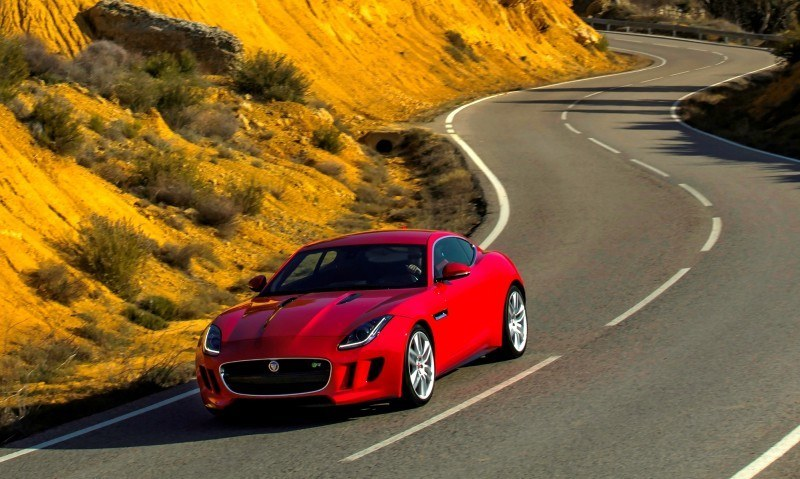2015 JAGUAR F-Type Coupe - American Launch at Willow Springs in 75 Sideways Action Shots 72
