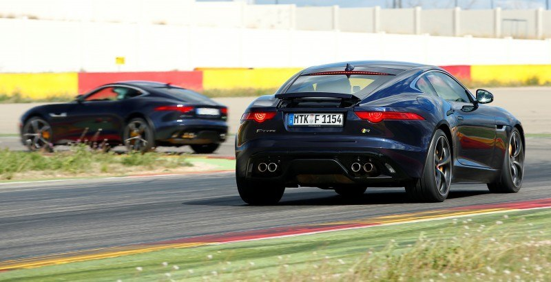2015 JAGUAR F-Type Coupe - American Launch at Willow Springs in 75 Sideways Action Shots 8