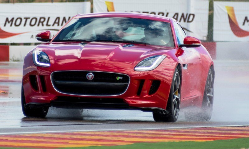 2015 JAGUAR F-Type Coupe - American Launch at Willow Springs in 75 Sideways Action Shots 83