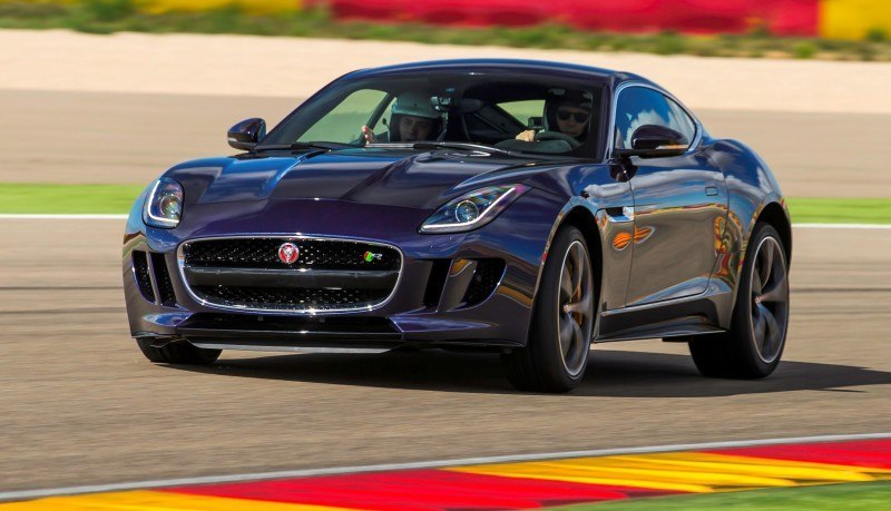 2015 JAGUAR F-Type Coupe - American Launch at Willow Springs in 75 Sideways Action Shots 9